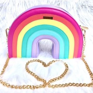 Skinnydip London Rainbow Crossbody Bag
